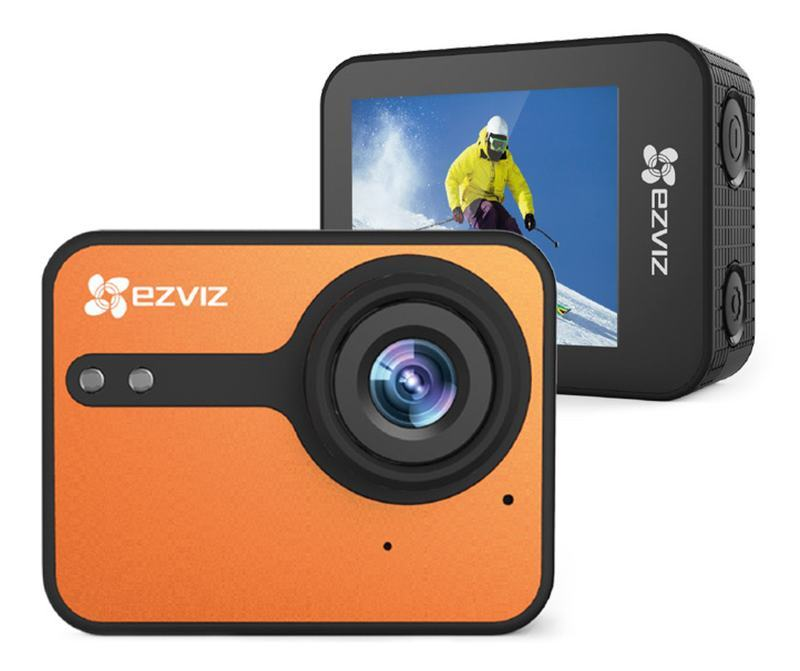 Ezviz S1C Orange Camera (CS-SP206-A0-54WFBS)