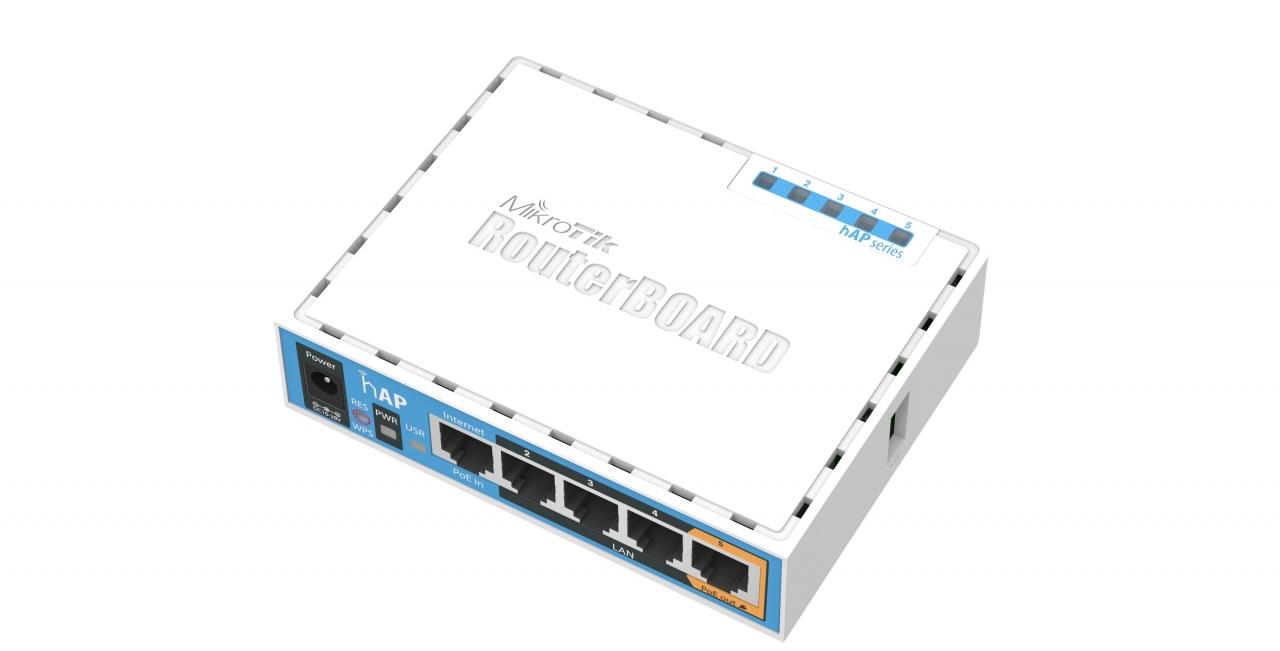 mikrotik rb951ui-2nd hap router