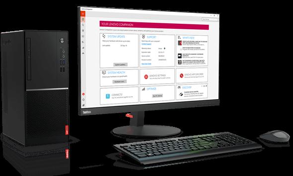 Lenovo V520 Desktop (i3-7100, 4GB, 500GB)