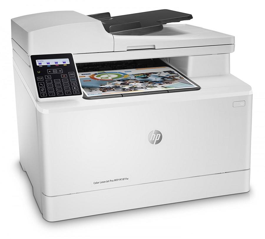 HP Color LaserJet Pro MFP M181fw Printer (T6B71A)