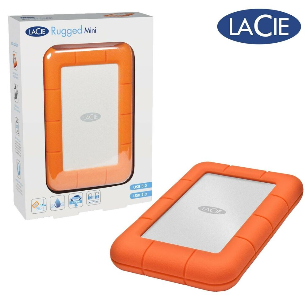 Lacie Rugged Mini 1tb Usb 3 0 2