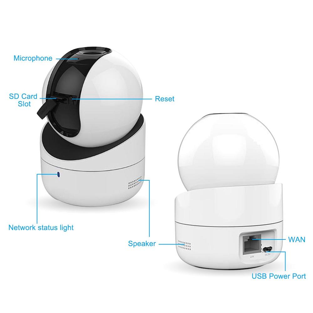 Hikvision Q1 Network PT Camera (DS-2CV2Q01FD-IW)